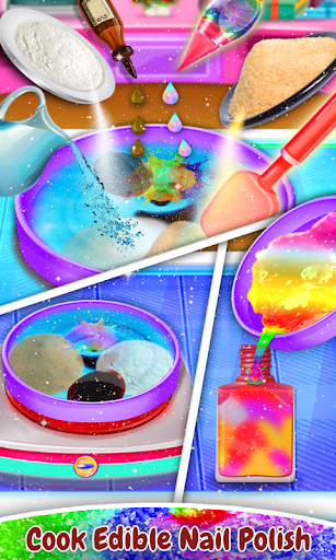 Candy Nail Polish & Ring Pop Salon! Candy Bracelet 1.0.5 screenshots 4