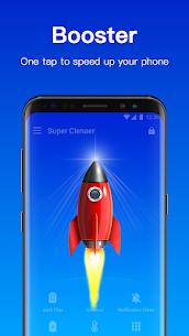 Clean Master Mod Apk of Cleaner, Antivirus 3