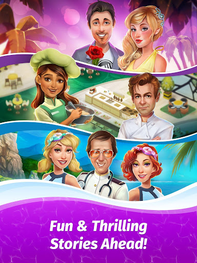 The Love Boat: Puzzle Cruise u2013 Your Match 3 Crush! apkpoly screenshots 14