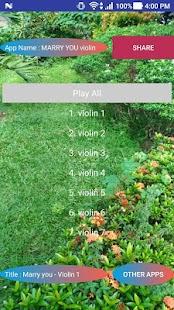 MARRY YOU violin - náhled