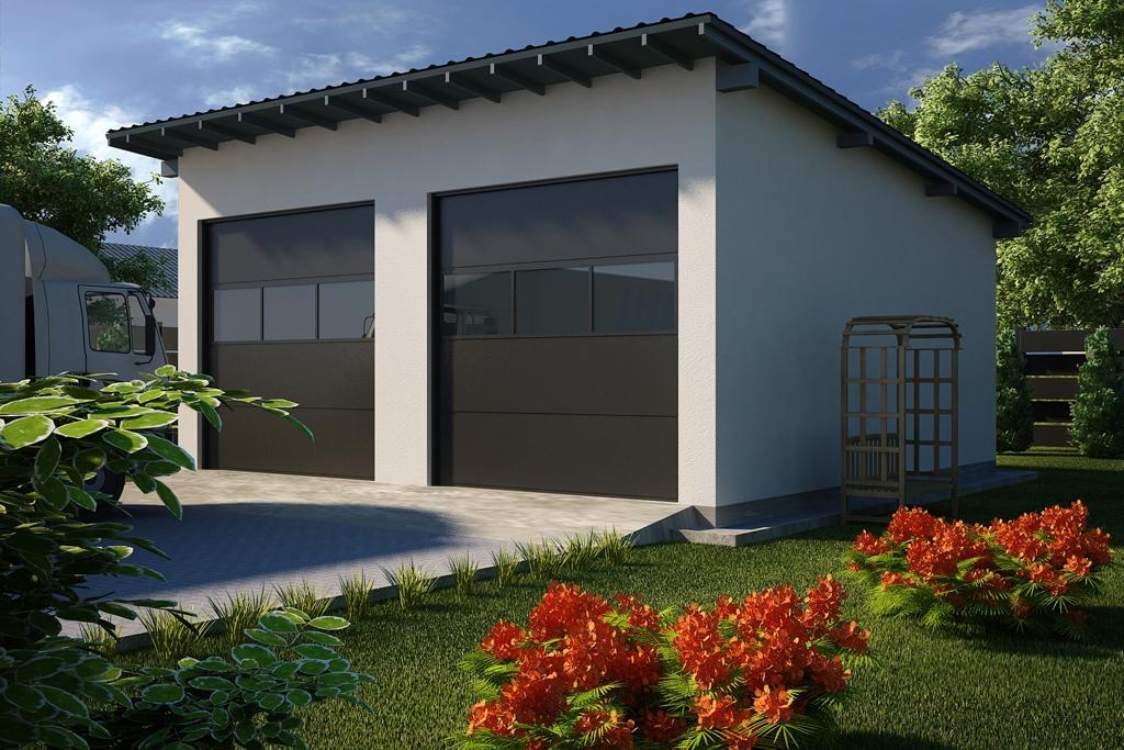 Projekt Garażu G26 Tjm 125 9063m²
