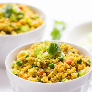 Curry Cauliflower Rice and Quinoa