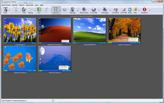 LanSchool Web Helper chrome extension
