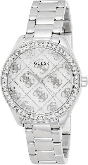 GUESS Girls Analog Watch with Stainless Steel Strap GW0001L1 :  Amazon.co.uk: Watches