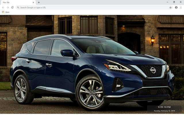 Nissan Murano New Tab & Wallpapers Collection