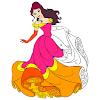 Princess Color by Number - Sandbox No. Color Paint
