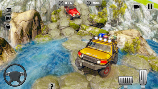 Offroad Jeep Driving & Racing apkpoly screenshots 7