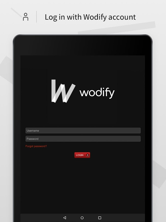 Wodify- screenshot