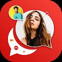 Sax Video Call - Live Talk Video Chat icon