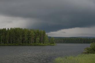 Photo: ukkonen jyrisi Suomessa...