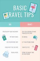 Basic Travel Tips - Pinterest Pin item