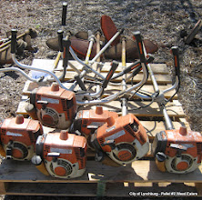Photo: Lot 43 - (Pallet #3) - 6 Stihl FS-250 Weed Eaters