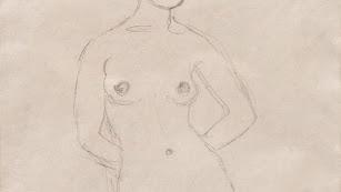 El dibujo pertenece a la serie titulada 'Adán y Eva'.