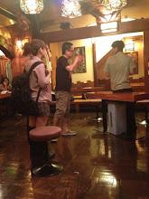 Photo: 9/16 いよいよ立ち稽古!! 左から宍戸裕美さん、演出の高橋さん、耕平くん