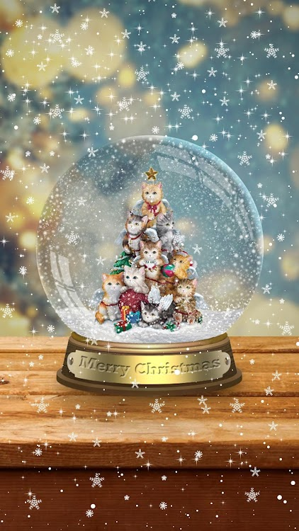 Snow Globe Christmas Wallpaper Live Android Apps Appagg