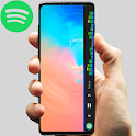 S10 Edge Hybrid Music Player icon