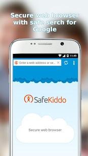 SafeKiddo Parental Control - náhled