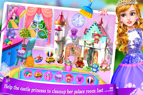 Schloss Princess Palace Zimmer Cleanup-Mädchen Spi – Apps bei Google ...
