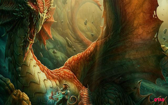 Dragon Wallpapers HD New Tab