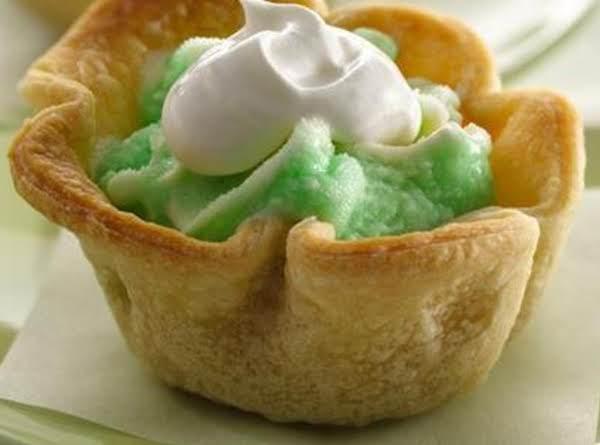 Lime Cooler Mini Ice Cream Pies Recipe