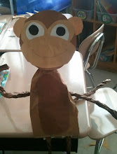 Photo: Kaleya's monkey from school project 3/2/12