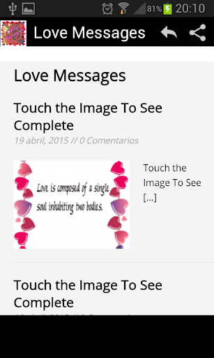 Love Messages