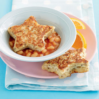 Cheesy French Toast with Baked Beans