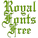 Royal Fonts for FlipFont free icon