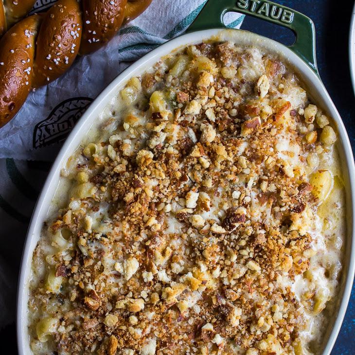 Philly Cheesesteak Macaroni and Cheese Recipe
