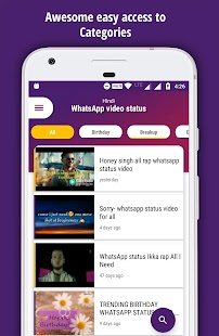 Whatsaap Video Status - Share feelings via videos - náhled