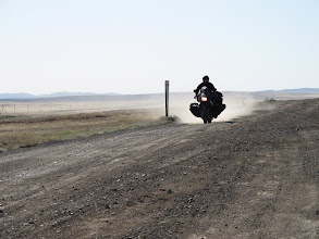 Photo: i asfalt się skończył...