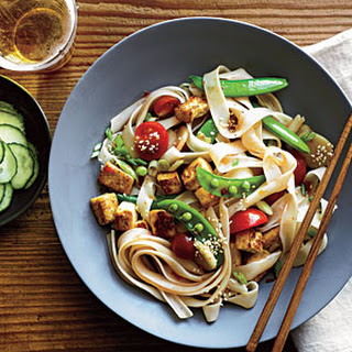 Chinese Noodle Salad with Sesame Dressing