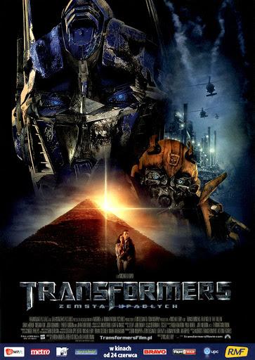 Przód ulotki filmu 'Transformers: Zemsta Upadłych'
