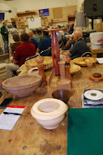 Photo: The Show & Tell table had a very wide variety of pieces.
