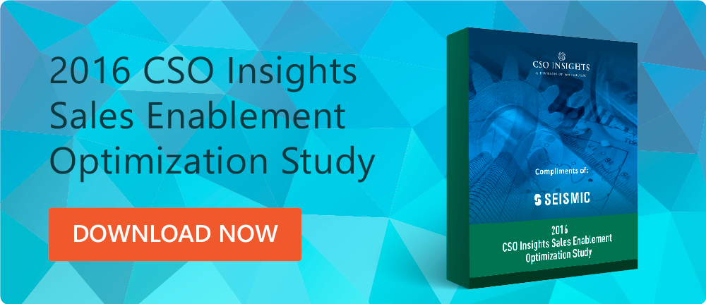 Read the CSO Insights Study