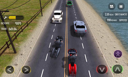 Race the Traffic Moto - screenshot