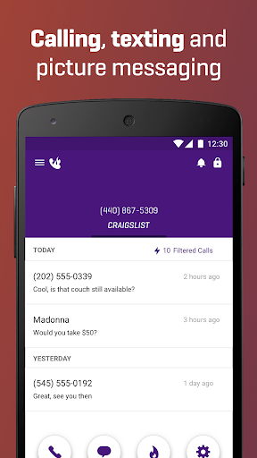 Burner - Free Phone Number Screenshot