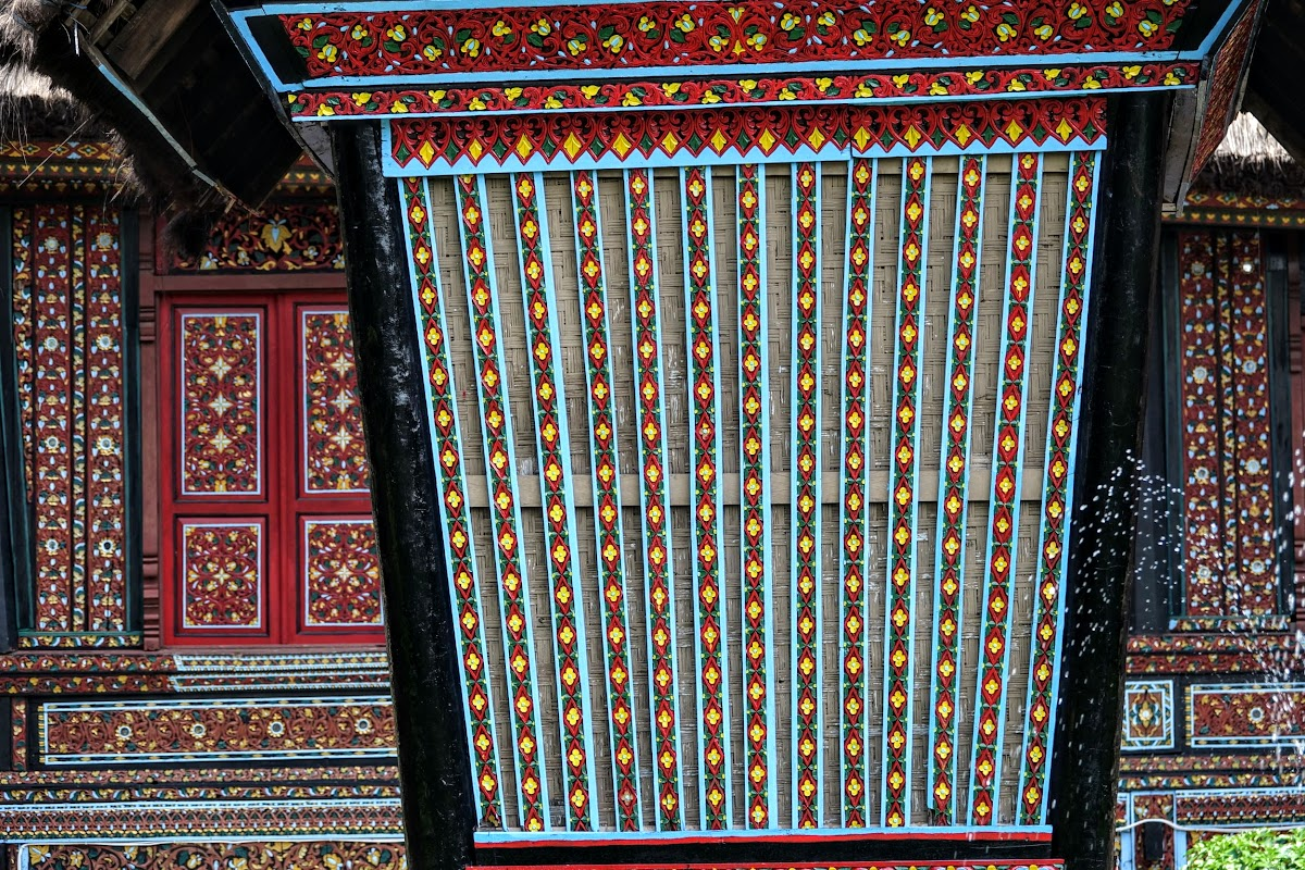Wall Patterns, West Sumatra