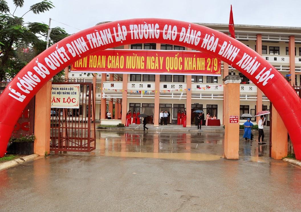 Lễ công bố thành lập trường Cao Đẳng Hòa Bình Xuân Lộc