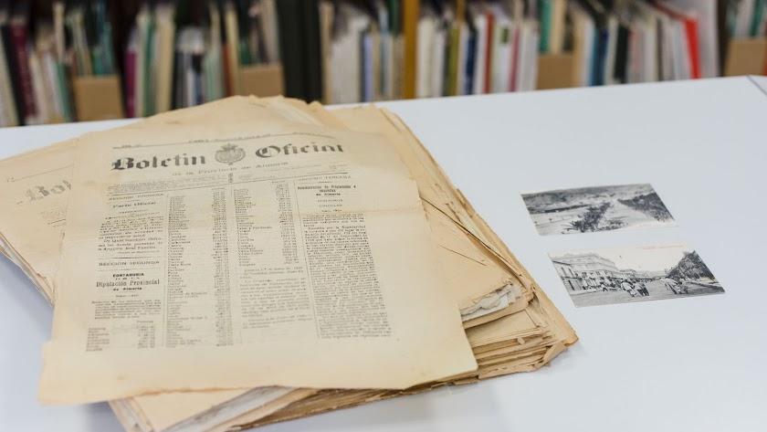 La biblioteca cataloga y conserva la producción documental de la provincia.