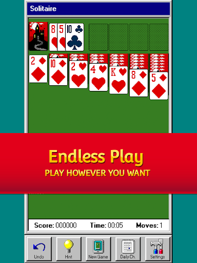 Solitaire 95 - The classic Solitaire card game filehippodl screenshot 9