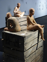 Photo: Chantal Tomàs. Explica una història (escultura). Casa de Cultura
