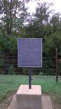 Photo: Zebulon Pike (!) marker near San Marcos 10/11/14