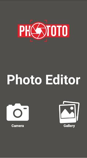Phototo: Photo Editor screenshot 1