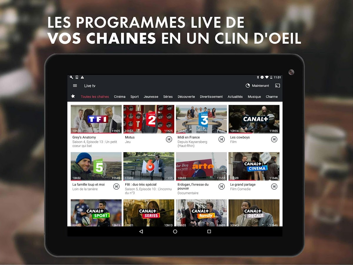 myCANAL, la TV by CANAL- screenshot