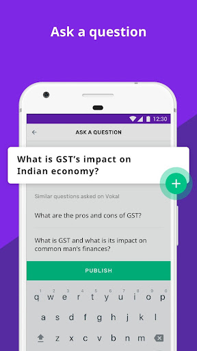Vokal - Ask Questions, Share knowledge with India  screenshots 2