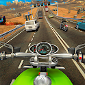 Racing In Moto Traffic Stunt Race icon