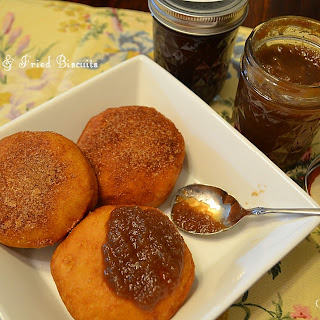 Old-Fashioned Apple Butter & Fried Biscuits