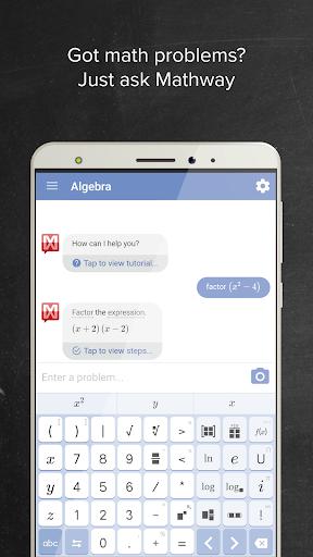 Mathway 3.3.0 screenshots 1