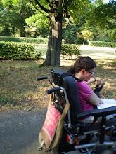 Photo: 14 VII 2010  roku -  i tak sobie  jadę  parkiem